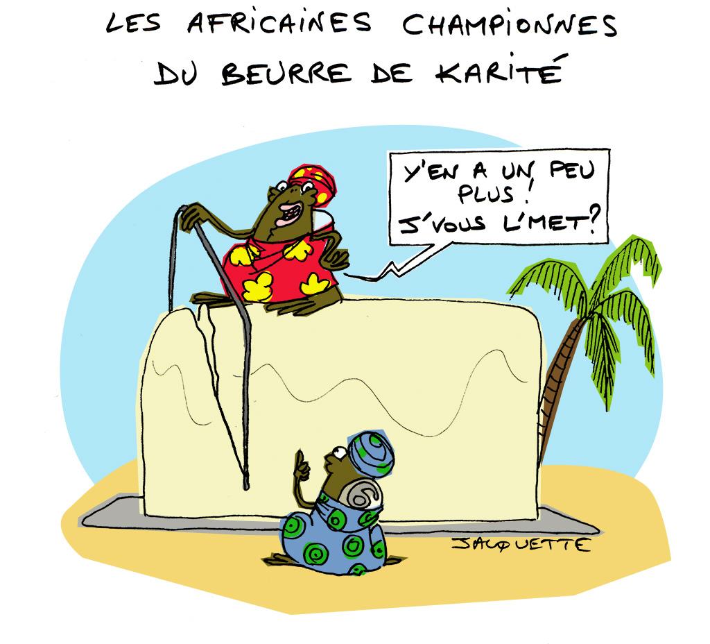 le Crapaud - nicolas Jacquette - robert- fiess - africaines championnes du beurre de karite