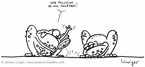 Le crapaud - Jérôme Liniger - Nos ancêtres pollueurs