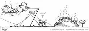 Le crapaud - Jérôme Liniger - Le monde croule aussi sous les déchets high-tech