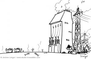 Le crapaud - Jérôme Liniger - Aux riches la terre des pauvres