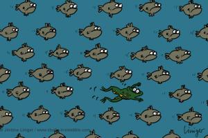 Le crapaud - Jérôme Liniger - Ces poissons qui rentrent au bercail