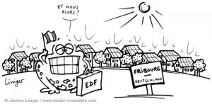 Le crapaud - Jérôme Liniger - Voir Fribourg et vivre