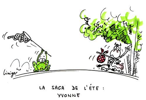 Le crapaud - Jérôme Liniger - Yvonne, la saga de l'été