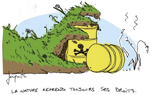 Le crapaud - Nicolas Jacquette - Face aux arrosages chimiques, le défi d'un fertilisant naturel