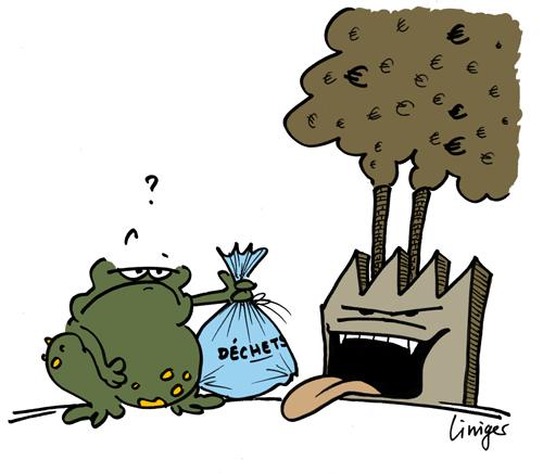 Le crapaud - Jérôme Liniger - dans les entrailles d'une usine d'incinération