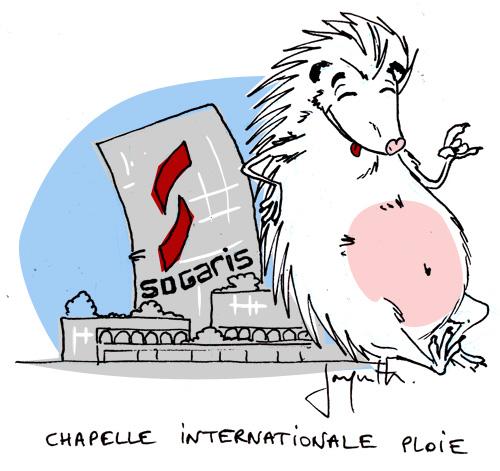 Le crapaud - Nicolas Jacquette - la municipalité de Paris obligée de composer avec la protection des hérissons