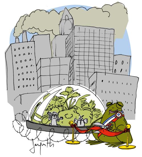 Le crapaud - Nicolas Jacquette - au petits soins des réserves naturelles
