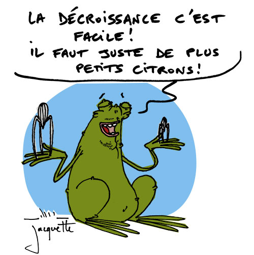 Le crapaud - nicolas Jacquette - Robert Fiess - Starck, l'écologie et la décroissance