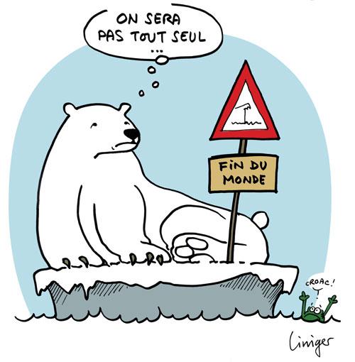 Les ours polaires à la dérive - Liniger et Fiess