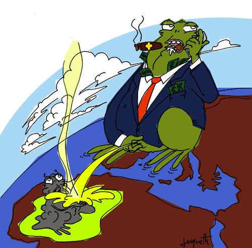 le crapaud - nicolas jacquette - robert fiess - afrique déchets toxiques et chimiques