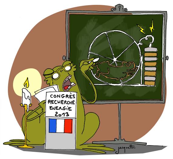 le crapaud - robert fiess - nicolas jacquette -la France en retard sur les énergies nouvelles