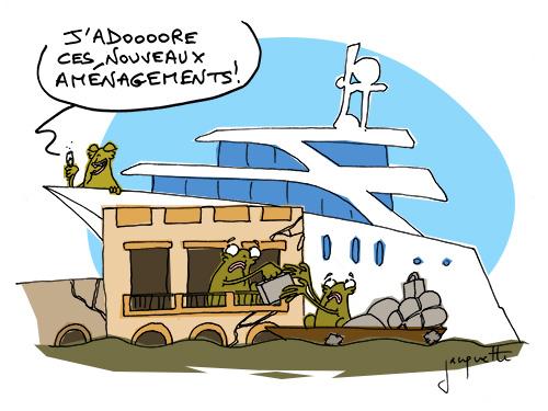 le crapaud - robert fiess - nicolas jacquette - saint-louis du Sénégal dévorée par l'océan