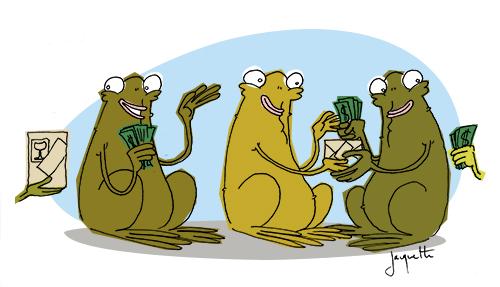 le crapaud - robert fiess - nicolas jacquette - nouvelle économie