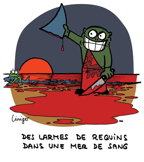Le Crapaud - Robert Fiess et Jérôme Liniger _ le massacre des requins