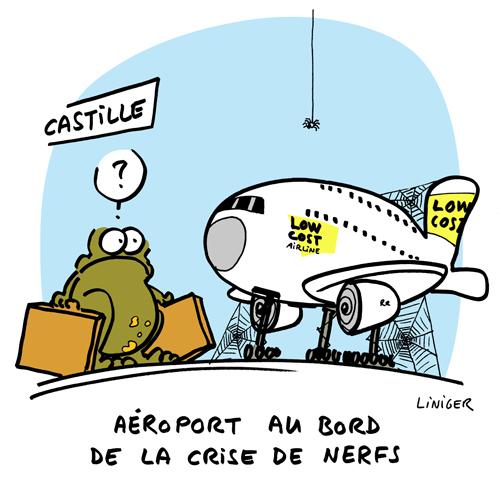 Le Crapaud - Liniger Fiess - Aéroport fantome en Castille