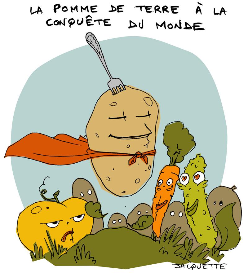 le Crapaud - Nicolas Jacquette - Robert Fiess - La pomme de terre à la conquête du monde