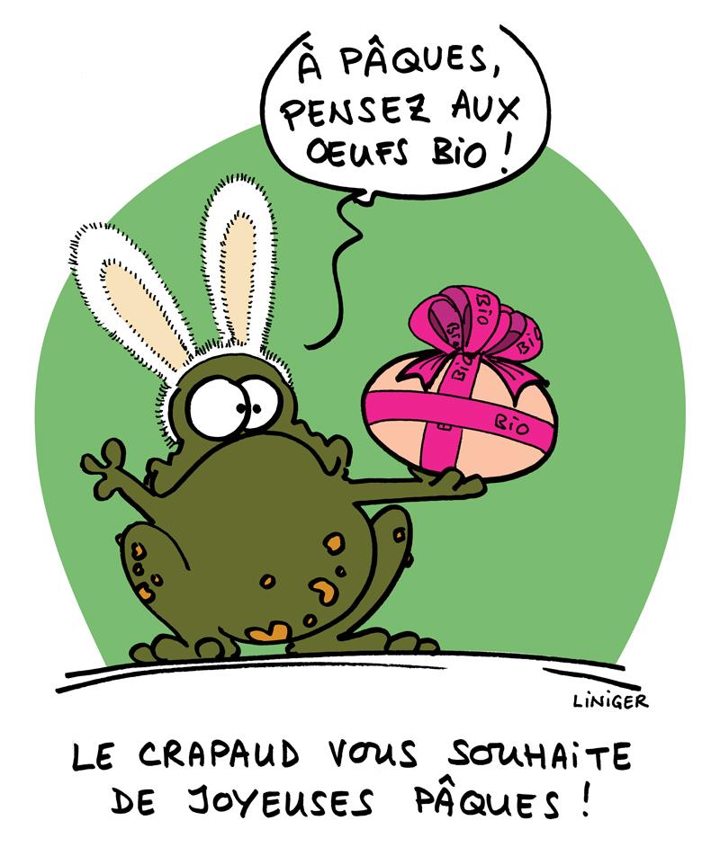 Le Crapaud de Paques par Liniger, Fiess, Jacquette