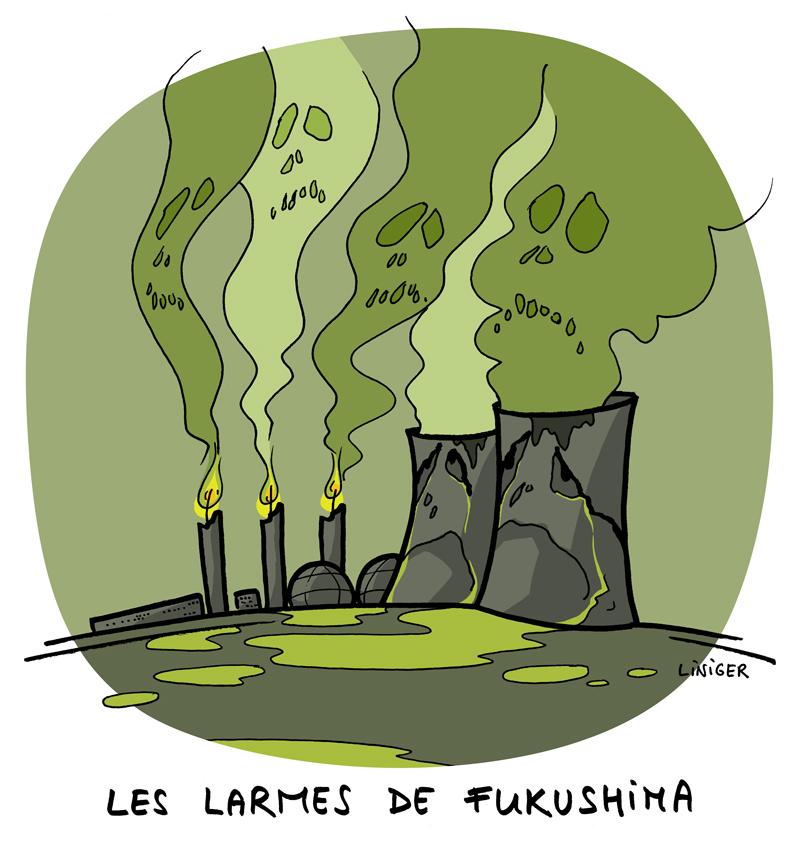 Le Crapaud - Fiess Liniger - 3e anniversaire de Fukushima