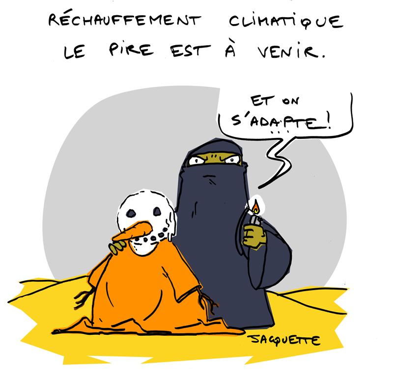 Le crapaud - robert fiess - nicolas jacquette - rechauffement climatique prise de conscience des Etats-Unis - daech - état islamique