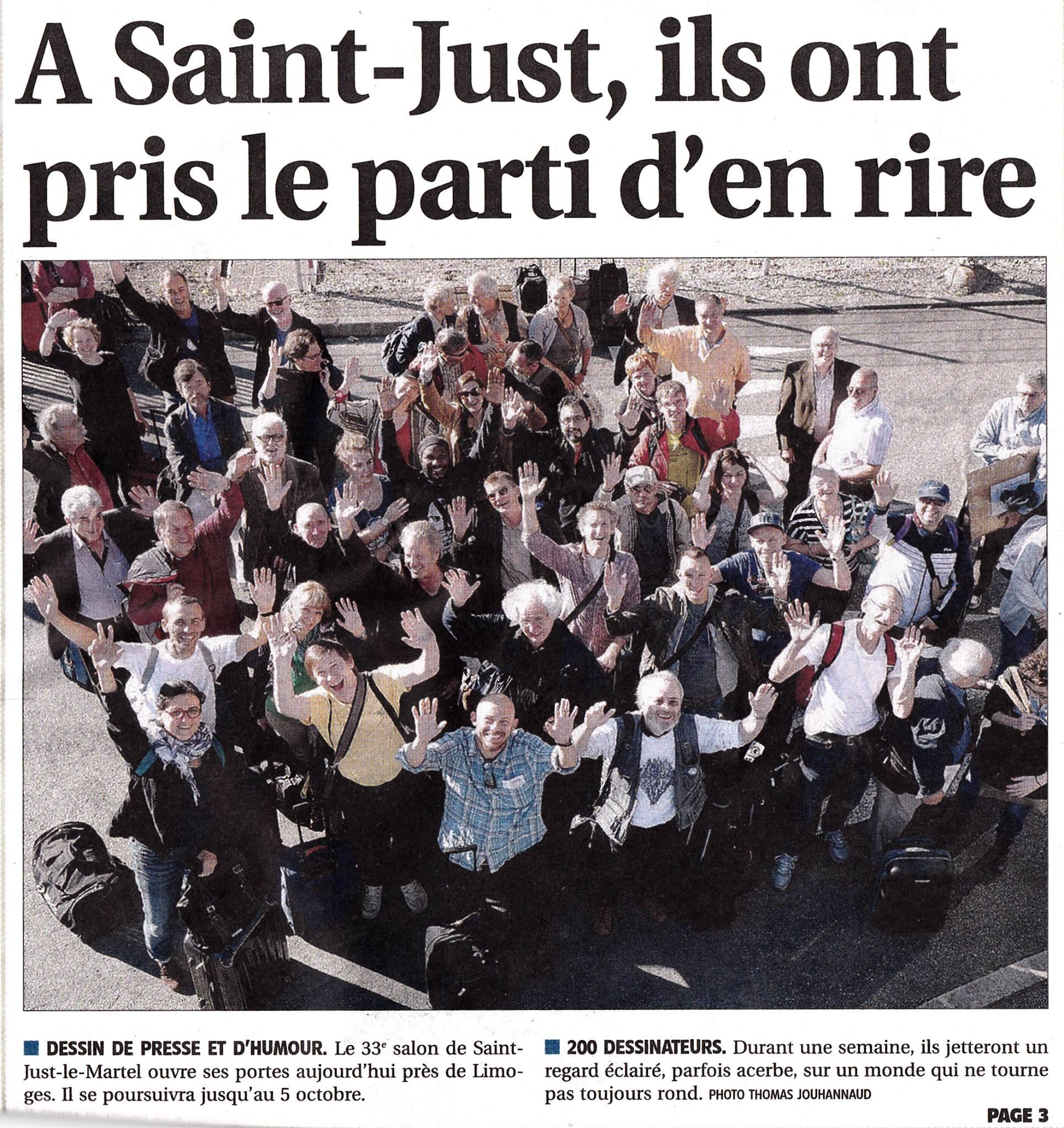 journal le Populaire du centre_Limoges_27-09-2014_01