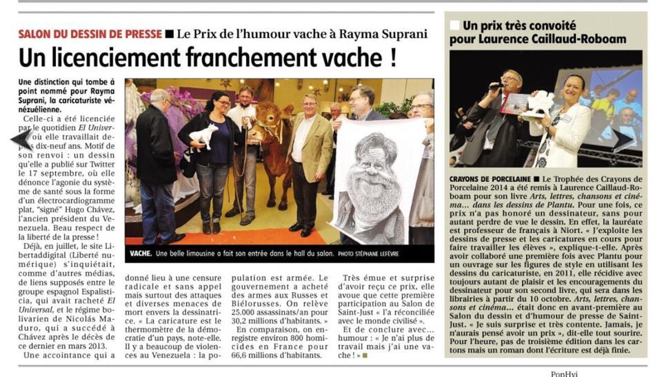 journal le Populaire du centre_Limoges_27-09-2014_03
