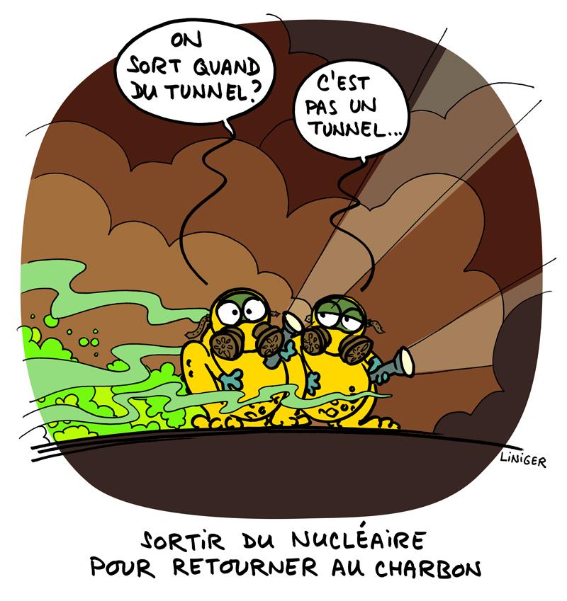 Liniger-Fiess - Le Crapaud nucléaire charbon
