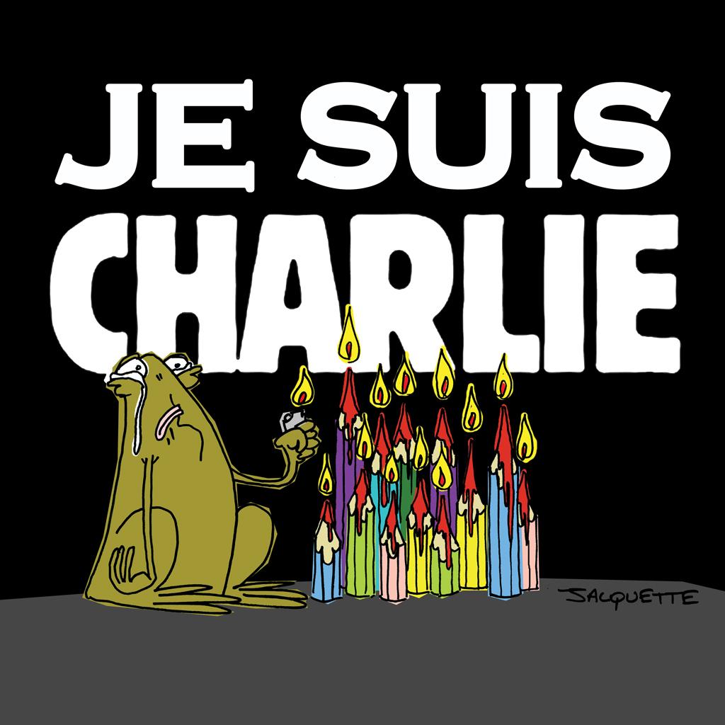 NIcolas Jacquette - Robert Fiess - Le Crapaud - je suis Charlie - Hebdo