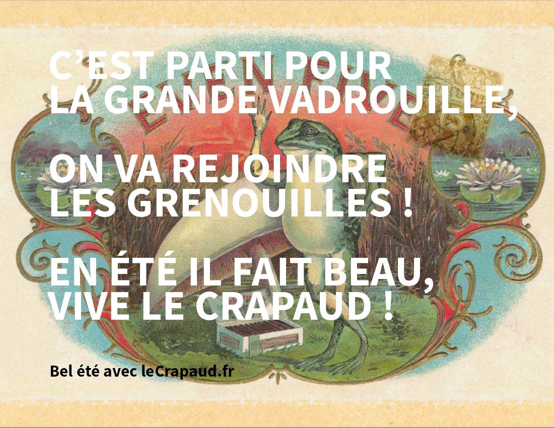 Bel été avec LeCrapaud.fr