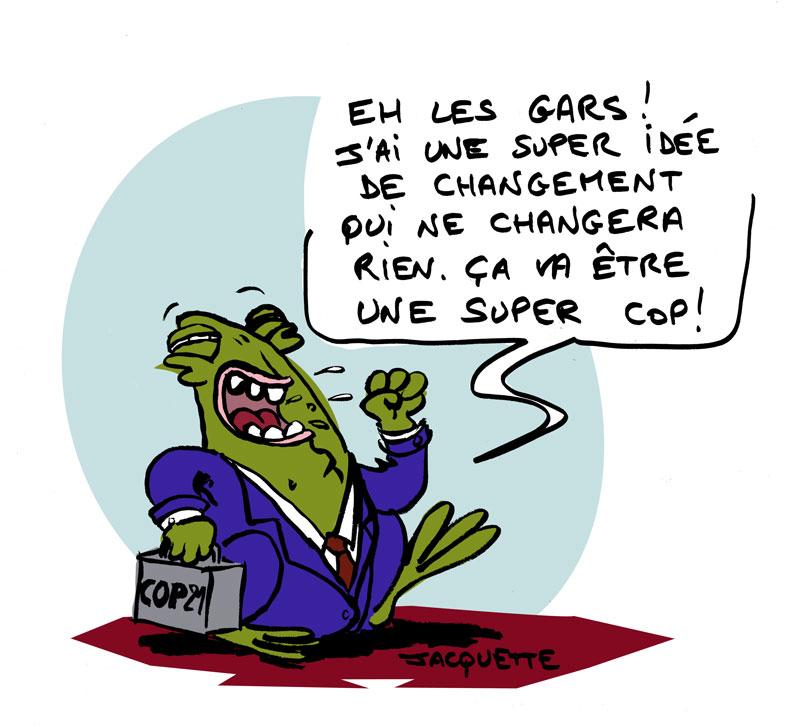 Le crapaud - robert fiess - nicolas jacquette - cop 21