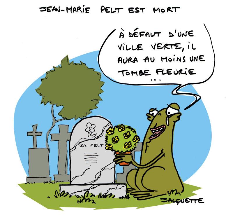 Le crapaud - Robert fiess - nicolas jacquette - jean-marie pelt décès ville verte