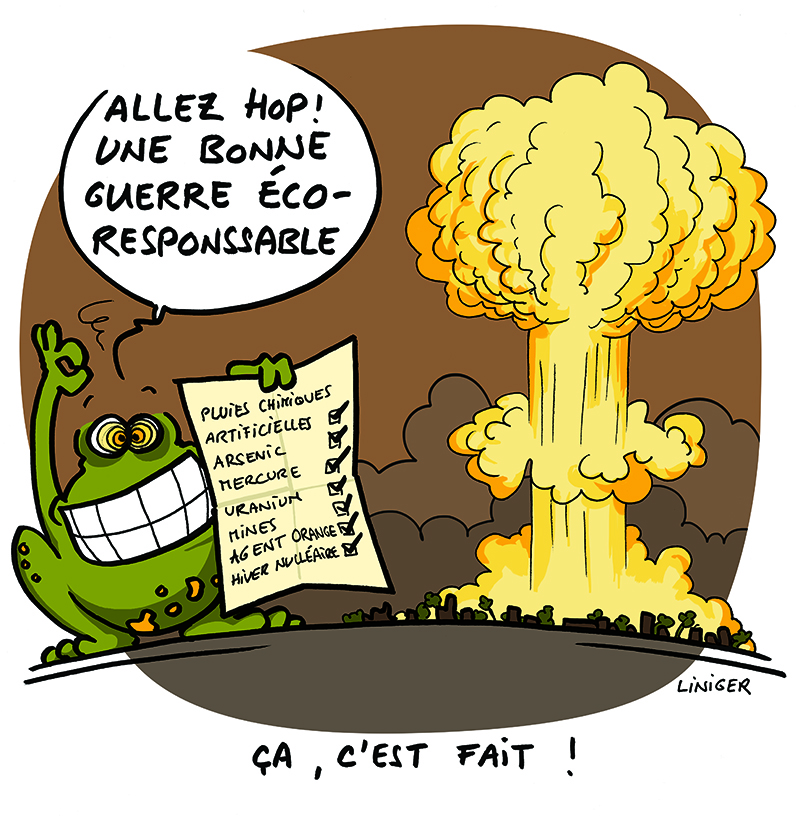 LeCrapaud - Fiess Liniger - la polution de guerre