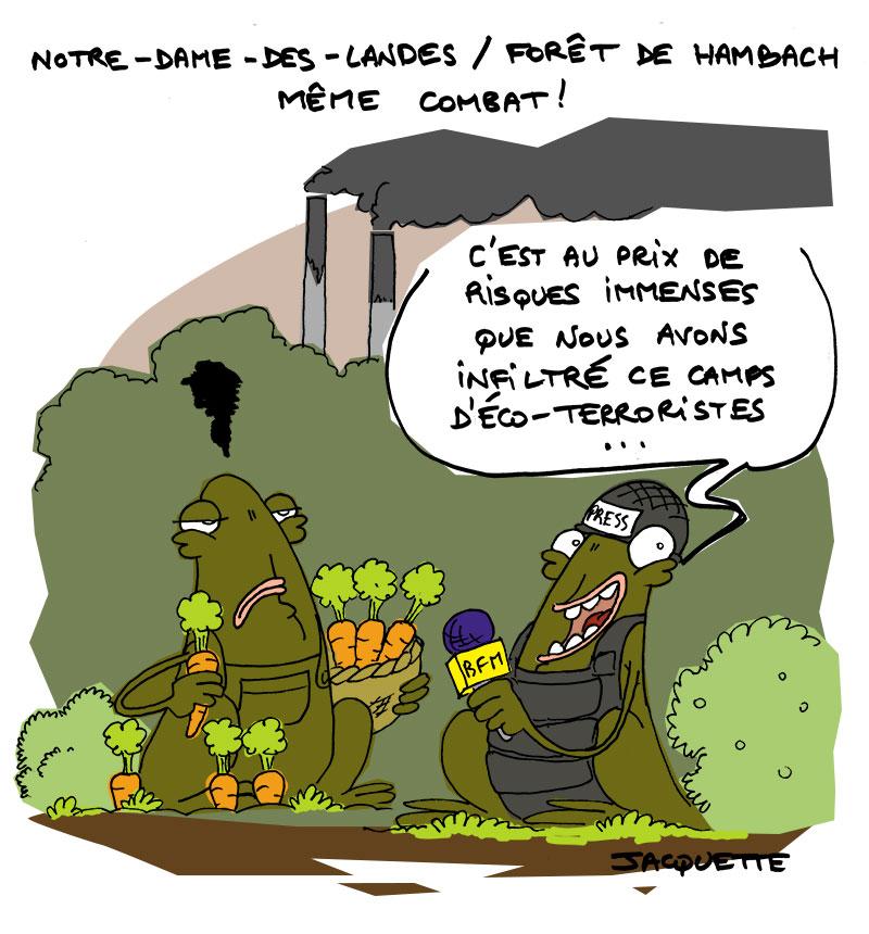le crapaud - robert fiess - nicolas jacquette _ mine de charbon allemande hambach - resistance eco pollution foret