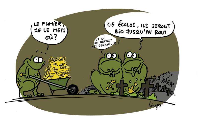 Lecrapaud - Robert Fiess - Jérôme Liniger - Le souhait de « Mourir vert »