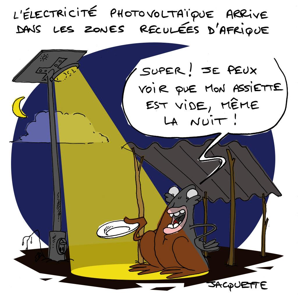 le crapaud - nicolas jacquette - robert fiess - électricité photovoltaique en afrique