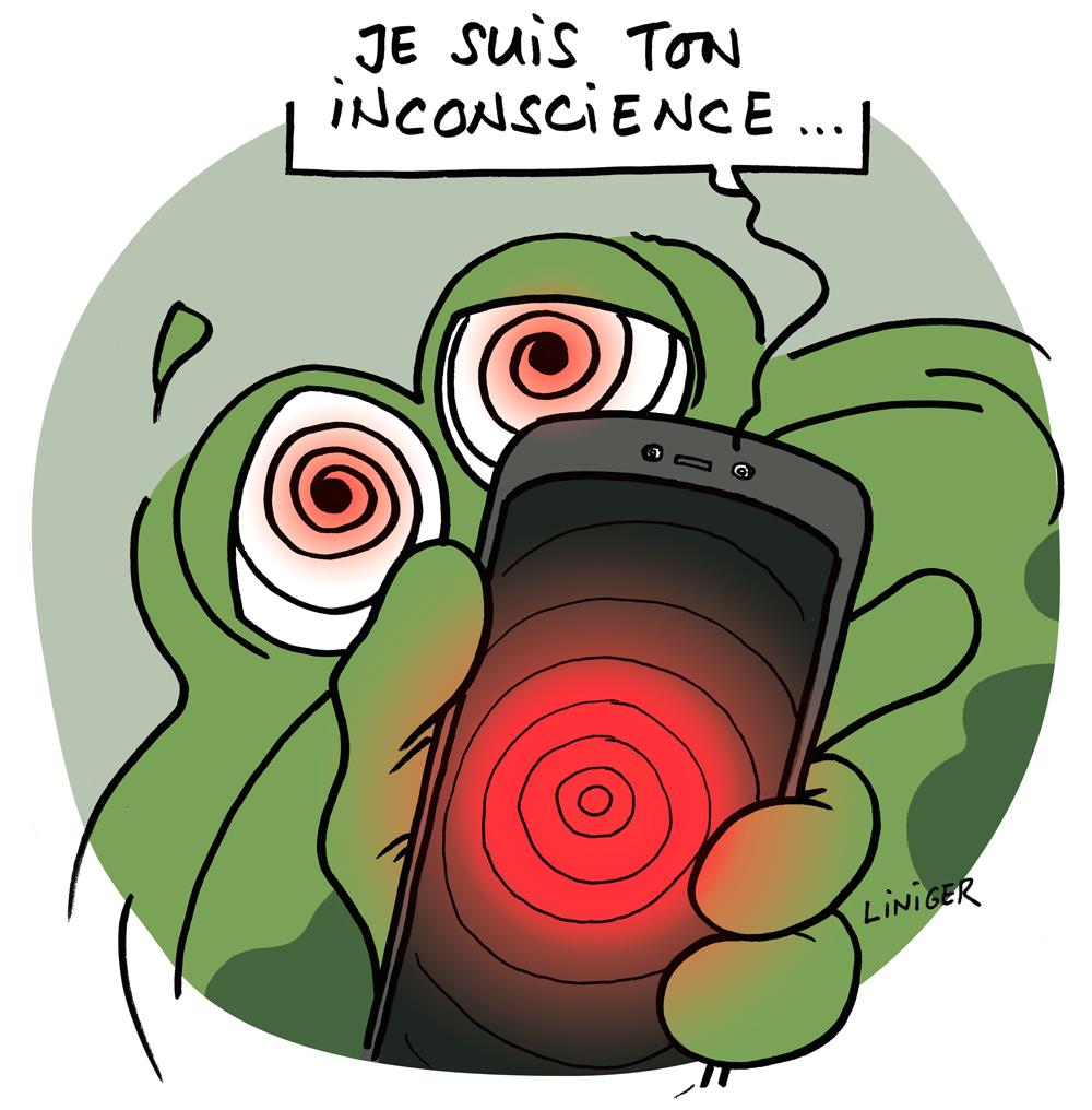 Liniger Fiess - humain et smartphone : maître ou esclave ?